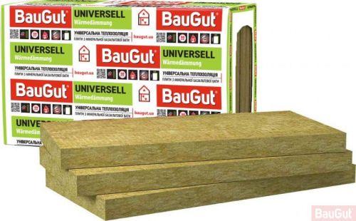 Базальтова вата BauGut Universell 30 100 мм 3 кв.м