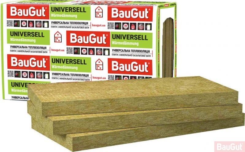 Базальтовая вата BauGut Universell 30 100мм 3кв.м