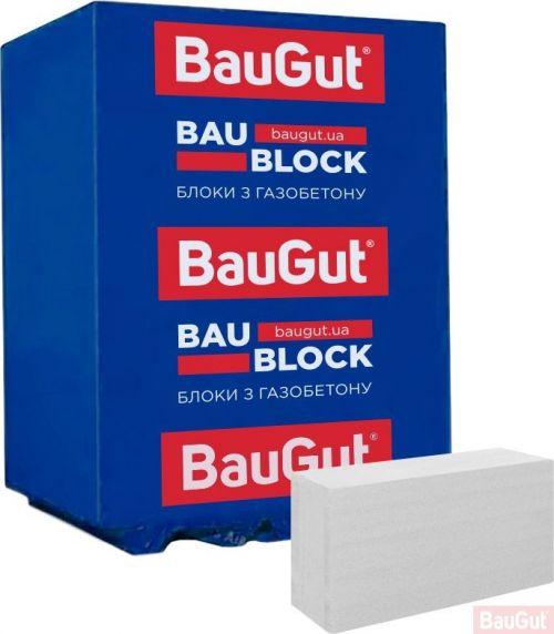 Газобетонный блок BauGut 600x200x400 мм D-500 гладкий