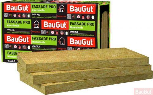 Базальтова вата BauGut FASSADE PRO 50 мм 2,4 кв.м