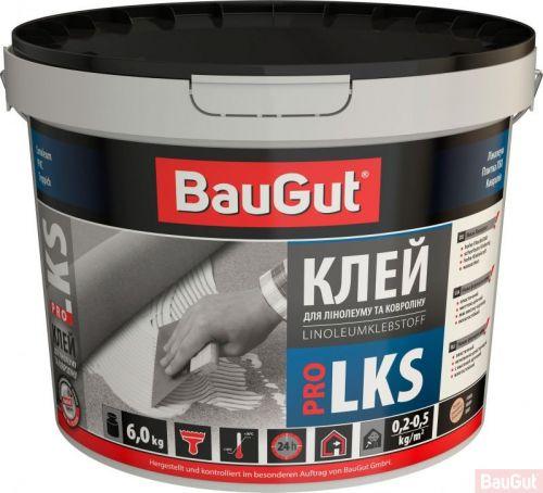 Клей для лінолеуму і ковроліну BauGut Pro 6 кг