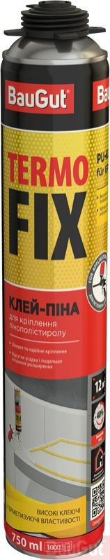 Піна-клей BauGut TERMO FIX 750ml