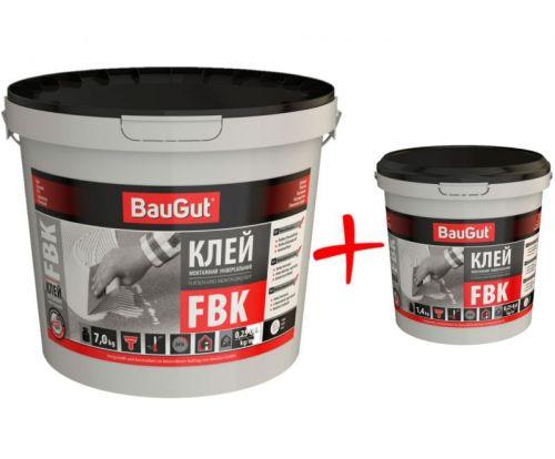 Клей універсальний монтажний BauGut FBK 7 кг + FBK 1,4 кг
