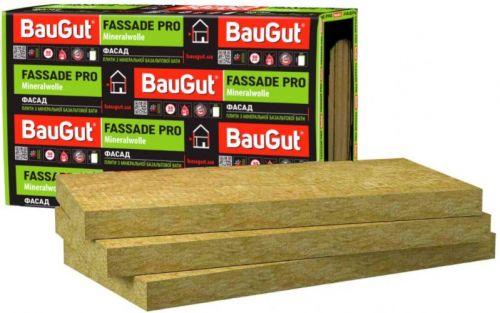 Базальтовая вата BauGut Фасад 115 50мм 2,4кв.м